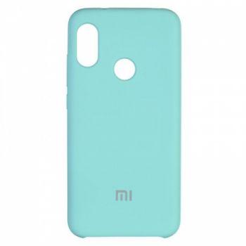Оригинальный чехол накладка Soft Case для Xiaomi Redmi 6 Pro Ocean Mint