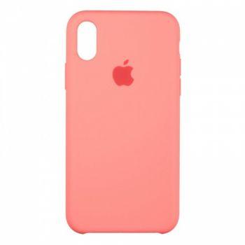 Original чехол накладка Silicone для iPhone XS Max Sweet Pink