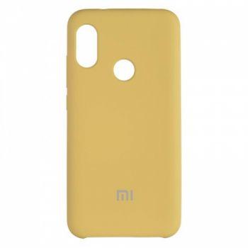 Оригинальный чехол накладка Soft Case для Xiaomi Redmi 6 Pro Gold