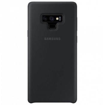 Оригинальный чехол накладка Soft Case для Samsung Note 9 черный
