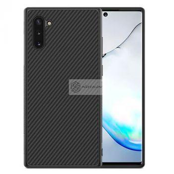 Черный чехол бампер Carbon от Nillkin для Samsung Galaxy Note 10