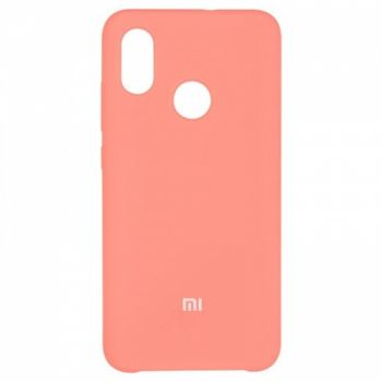 Оригинальный чехол накладка Soft Case для Xiaomi Mi8 Pink