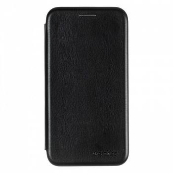 Чехол книжка из кожи G-Case Ranger для Samsung A600 (A6-2018) черный