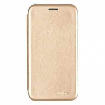 Чехол книжка из кожи G-Case Ranger для Samsung A600 (A6-2018) золотой