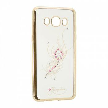 Прозрачный чехол с рисунком и камешками для Huawei Y3 Firebird