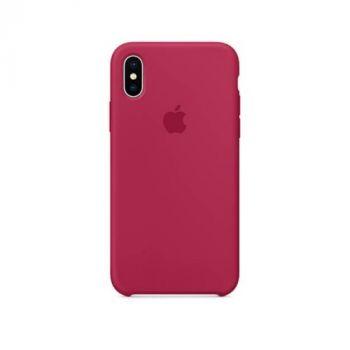Чехол для iPhone X Original Copy вишневый