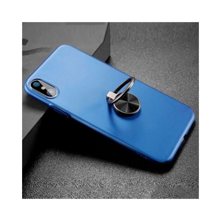 Функциональный чехол пенал Magnetic Blue для iPhone X