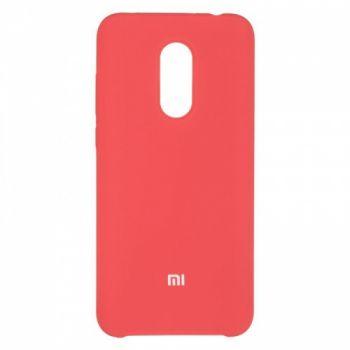 Оригинальный чехол накладка Soft Case для Xiaomi Redmi 5 Plus Rose Red