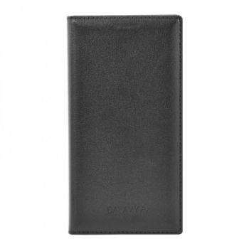 Оригинальная кожаная книжка для Samsung J600 (J6-2018) черный