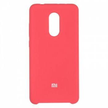 Оригинальный чехол накладка Soft Case для Xiaomi Redmi 5 Rose Red