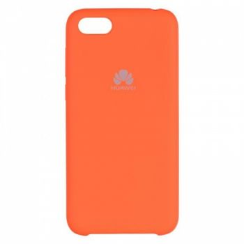 Оригинальный чехол накладка Soft Case для Huawei Y5 (2018) оранжевый