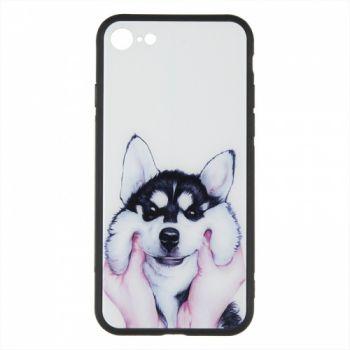 Силиконовая накладка с принтом от iPaky для Huawei Y7 Prime (2018) Cheerful Dog (C08)
