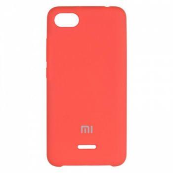 Оригинальный чехол накладка Soft Case для Xiaomi Redmi 6a Red