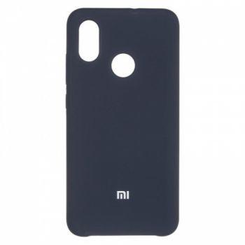 Оригинальный чехол накладка Soft Case для Xiaomi Mi8 Black
