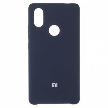 Оригинальный чехол накладка Soft Case для Xiaomi Mi8 SE Dark Blue