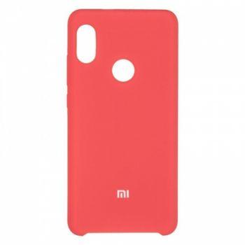Оригинальный чехол накладка Soft Case для Xiaomi Redmi Note 5/5 Pro Red