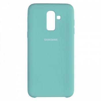 Оригинальный чехол накладка Soft Case для Samsung J810 (J8-2018) Ocean Mint