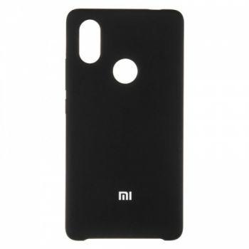 Оригинальный чехол накладка Soft Case для Xiaomi Mi8 SE Black