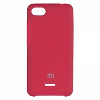 Оригинальный чехол накладка Soft Case для Xiaomi Redmi 6a Bordo