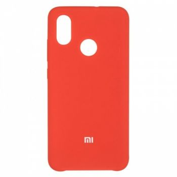 Оригинальный чехол накладка Soft Case для Xiaomi Mi8 Red