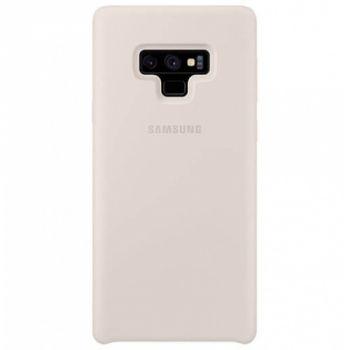 Оригинальный чехол накладка Soft Case для Samsung Note 9 серый