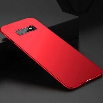 Яркий чехол накладка Soft Red для Samsung Galaxy S10 Plus