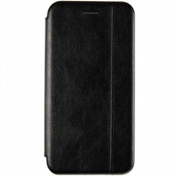 Кожаная книжка Cover Leather от Gelius для Huawei Y6 (2019) черная
