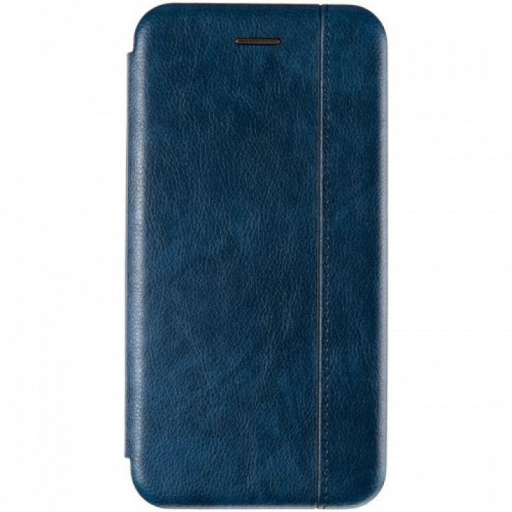 Кожаная книжка Cover Leather от Gelius для Samsung A515 (A51) синяя