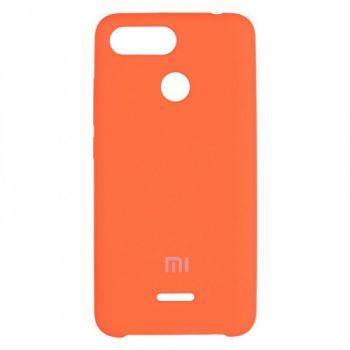 Оригинальный чехол накладка Soft Case для Xiaomi Redmi 5a Orange