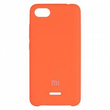 Оригинальный чехол накладка Soft Case для Xiaomi Redmi 5 Plus Orange