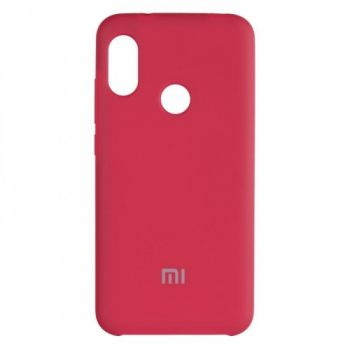 Оригинальный чехол накладка Soft Case для Xiaomi Redmi Note 5/5 Pro Bordo