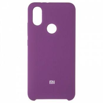 Оригинальный чехол накладка Soft Case для Xiaomi Redmi 6 Violet