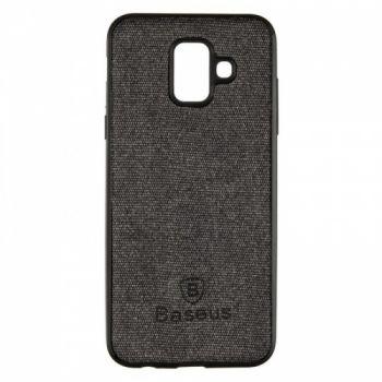 Стильная мужская накладка Skill Case от Baseus для Samsung J610 (J6 Plus) черный