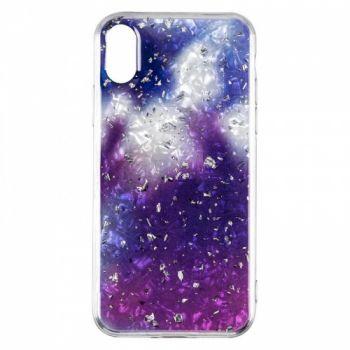 Чехол с жидкостью и блестками Light Stone от Baseus для Samsung A920 (A9-2018) фиолетовый