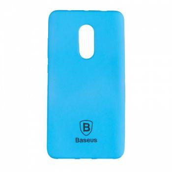 Яркий силиконовый чехол Colorit от Baseus для Xiaomi Redmi Note 4 синий