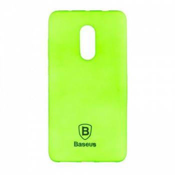 Яркий силиконовый чехол Colorit от Baseus для Xiaomi Redmi Note 4 зеленый