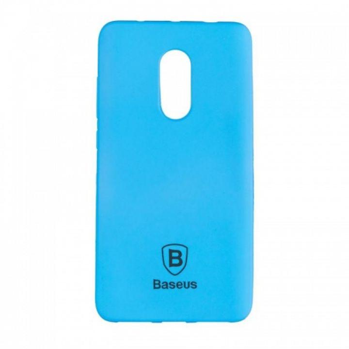 Яркий силиконовый чехол Colorit от Baseus для Xiaomi Redmi Note 4x синий
