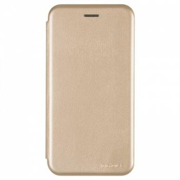Чехол книжка из кожи Ranger от G-Case для Xiaomi Redmi Note 5/5 Pro золотой
