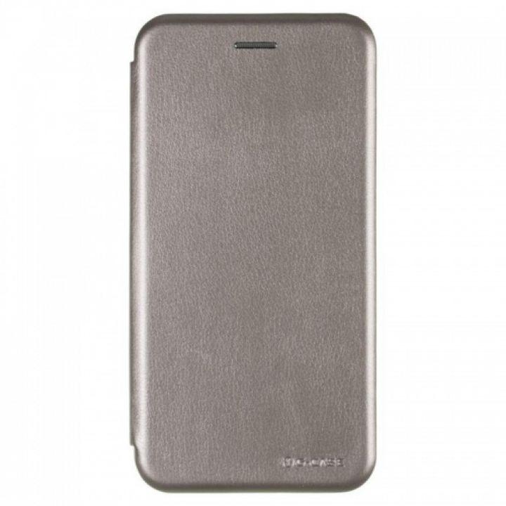 Чехол книжка из кожи Ranger от G-Case для Xiaomi Redmi Note 5/5 Pro серый