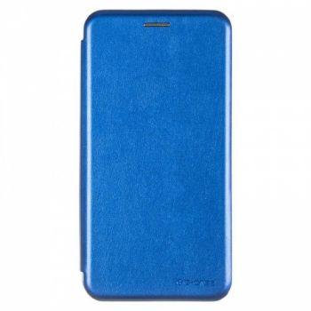 Чехол книжка из кожи Ranger от G-Case для Huawei Y7 синий