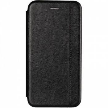 Кожаная книжка Cover Leather от Gelius для Huawei Y7 (2019) черная