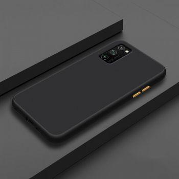 Противоударный матовый чехол Yoho для Samsung Galaxy S20 black