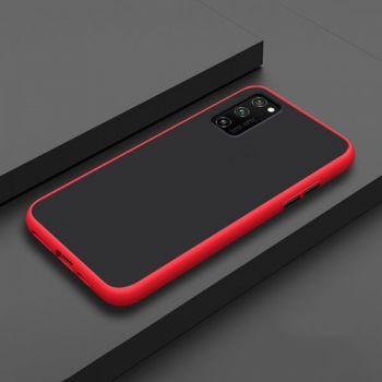 Противоударный матовый чехол Yoho для Samsung Galaxy S20 red