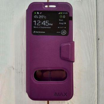 Чехол книжка Illuminate для Samsung Galaxy S8 Plus фиолетовый