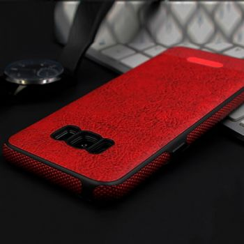 Красный чехол накладка Allure для Samsung Galaxy S8