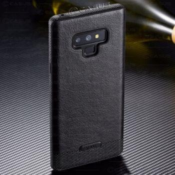 Кожаный чехол Allure для Samsung Galaxy Note 9 черный