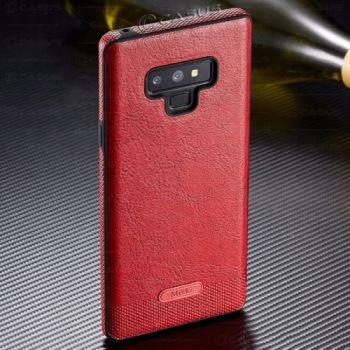 Кожаный чехол Allure для Samsung Galaxy Note 9 красный
