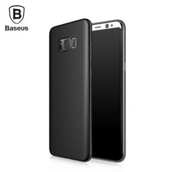 Черный силиконовый чехол накладка UltraSlim для Samsung S8 Plus