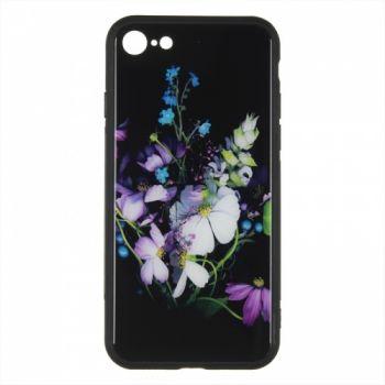 Силиконовая накладка с принтом от iPaky для iPhone 7 Flower Bouquet