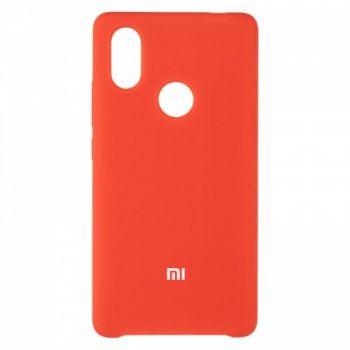Оригинальный чехол накладка Soft Case для Xiaomi Mi8 SE Red